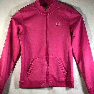 Under Armour Pink soft shell jacket L
